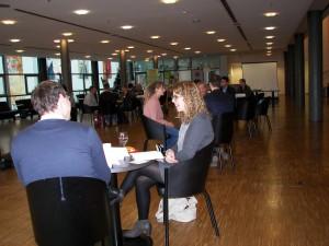"""""""Speed Dating"""" zwischen Kulturschaffenden und Touristiker/innen in Heilbronn"""