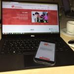 YCARE homepage und App