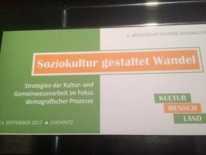 Fachtag Soziokultur 2017