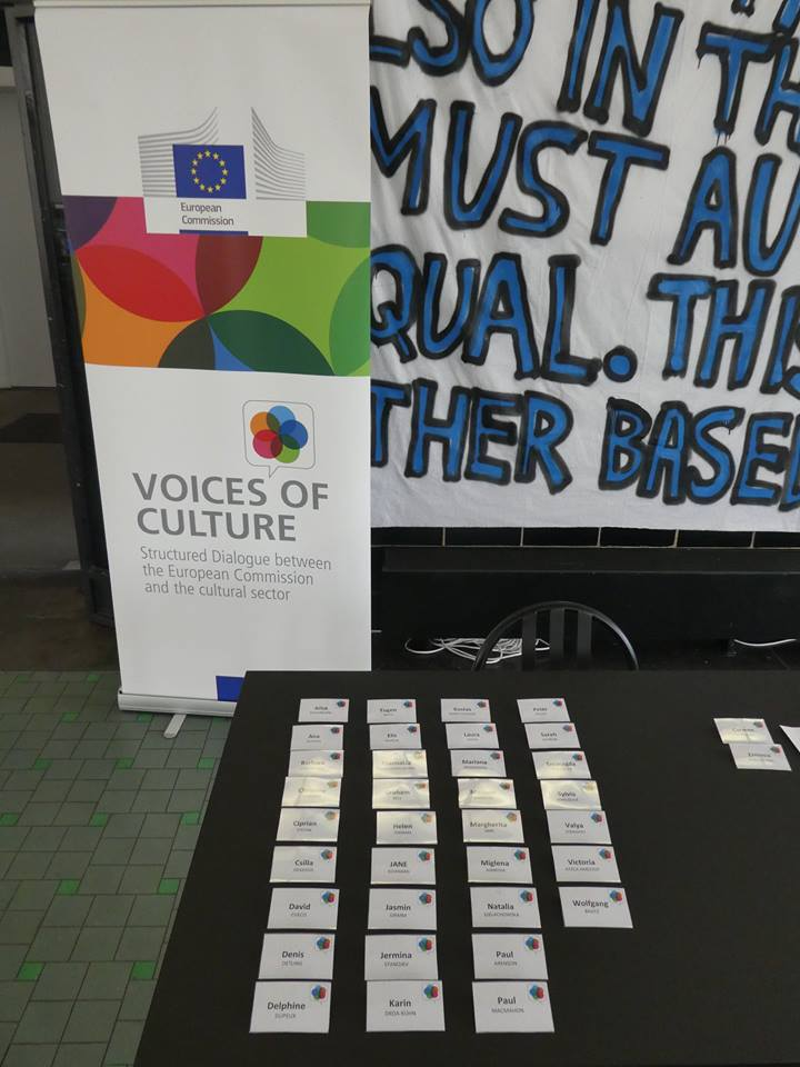 "Voices of Culture - die Initiative der EU Generaldirektion ""Education and Culture"""