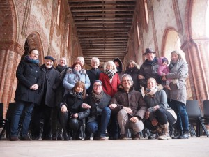 EROPETOUR at Chorin monastery
